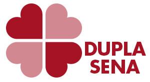 Dupla Sena loteria logotipo