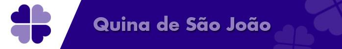 Quina de sao joao e logotipo da Quina