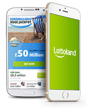 Lottoland mobile app