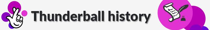 Thunderball history + logo