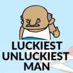 Luckiest unluckiest man - Frane Sealk draw picture