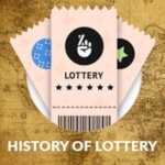 Lottery tickets on historical pattern with history of lottery text